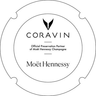Coravin and Moët Hennessy Logo