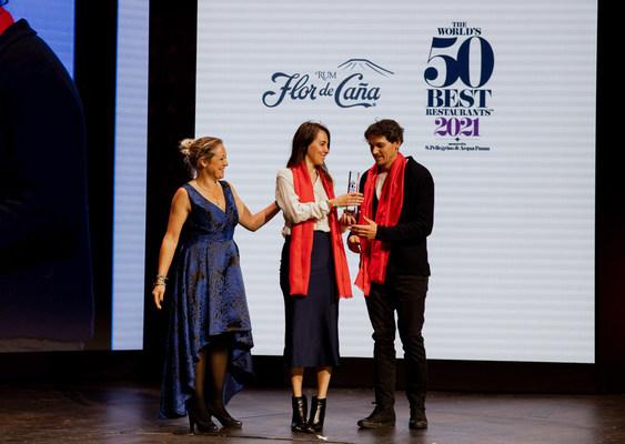 """Boragó recibe el """"Premio Flor de Caña al Restaurante Más Sostenible del Mundo"""""""